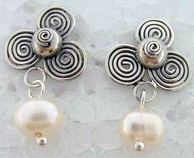 Beaded Posts Earrings
